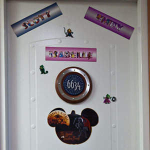 Disney Stateroom Door Decorations