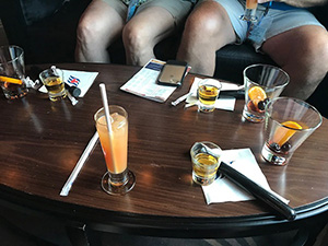 Disney Cruise Beverage Tasting