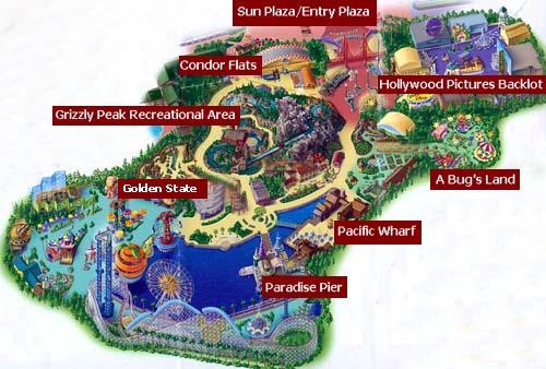 Map Of Disney California Adventure 2015 | New Calendar Template Site