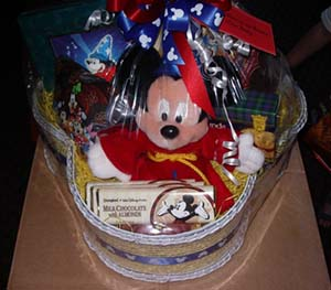 Vacation Planning Service - Mickey Basket